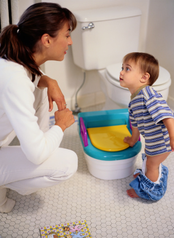Tips for potty training boys to poop
