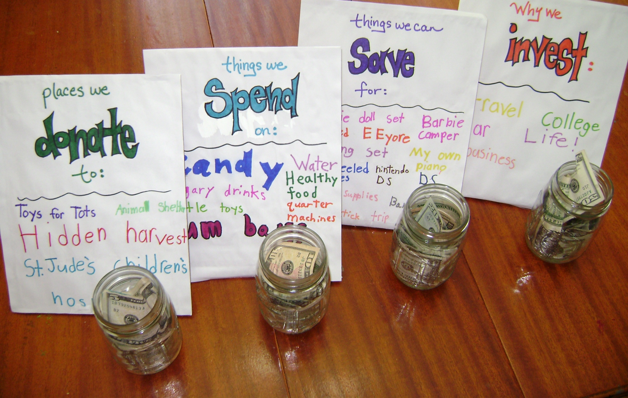Teaching kids to save – and spend – money wisely