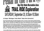 Pedal in the Park - Bay City State Recreation Area
