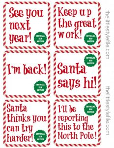 graphic regarding Elf on the Shelf Printable Notes referred to as 40 Elf upon The Shelf Guidelines, Notes, Poems, and Jokes! Best