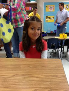 My Sweet-Girl's first day of kindergarten!